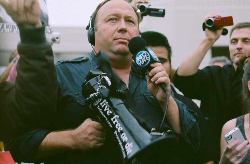 Alex Jones Arrested for Farting in His Kids Faces After Believing His Farts Have Mind Controlling Abilities