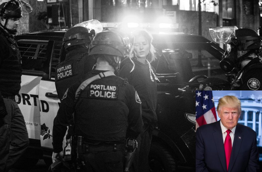 Trump Administration Promises to Only Use a Little Bit of Fascism Against Protesters in Portland