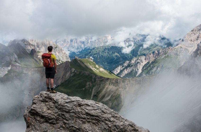 Hiker Who Tells People He Enjoys Hiking Realizes He's More Boring Than Previously Thought