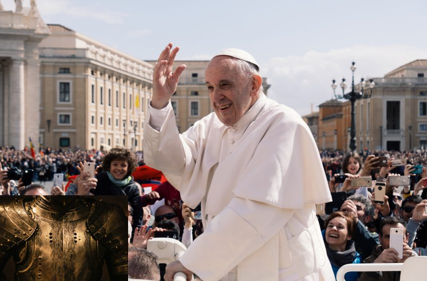 Pope Francis Announces New Crusade with Money they Have for Not Being Taxed to Take Back the Holy Land