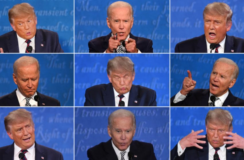 No Clear Winner of the First Presidential Debate After Former Vice President Biden Has 3 Strokes and Falls 7 Times on Stage and President Trump Has 4 Heart Attacks, a Seizure, and Shits His Pants Twice