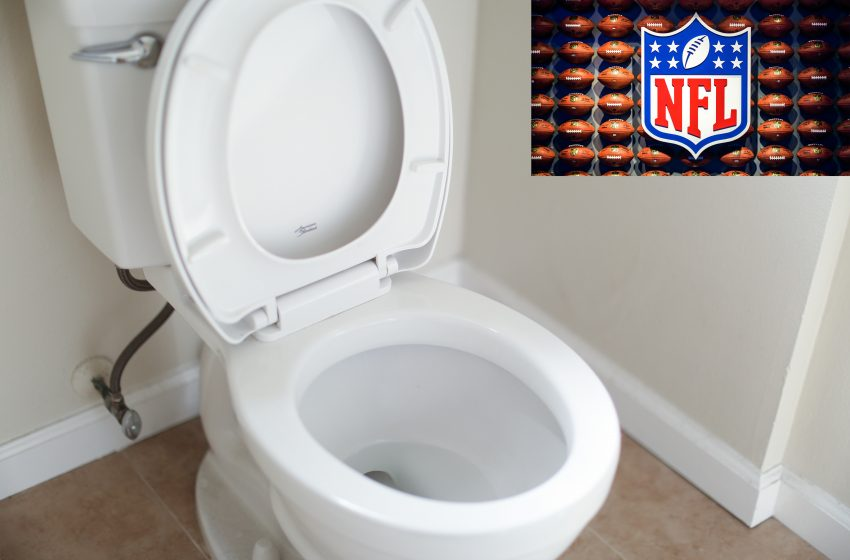 Another NFL Player Announces He Sits While Peeing, Outraging Half of Americans
