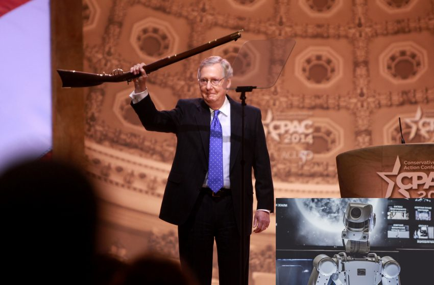 A Terminator Sent Back in Time to Prevent the Apocalypse is Killing Every Man Named Mitch McConnell in Kentucky