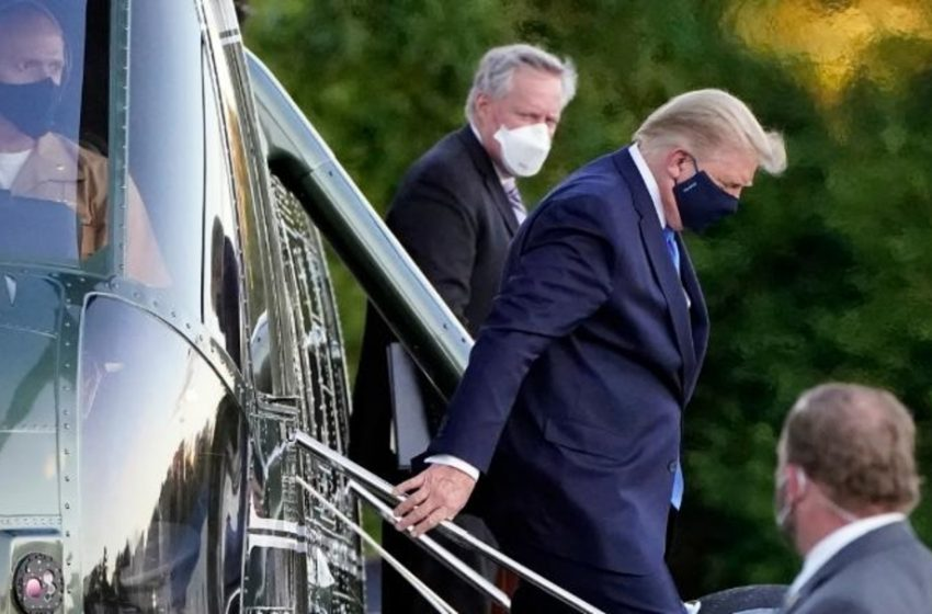 President Trump Doesn't Think People Should Be Afraid of COVID-19 as Long as They Have Access to Experimental Treatments, a Helicopter, and a Private Suite