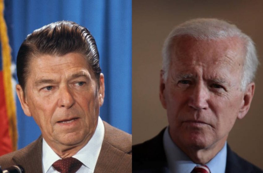 'Biden is Way Too Old To Be President' Says Man Whose Two Favorite Presidents, Trump and Reagan, Were Also Old as Fuck When President