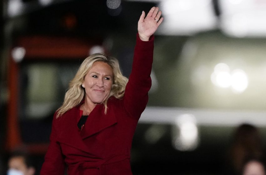 Controversial GOP Representative Marjorie Taylor Greene Announces She Will Run for Dictator in 2024
