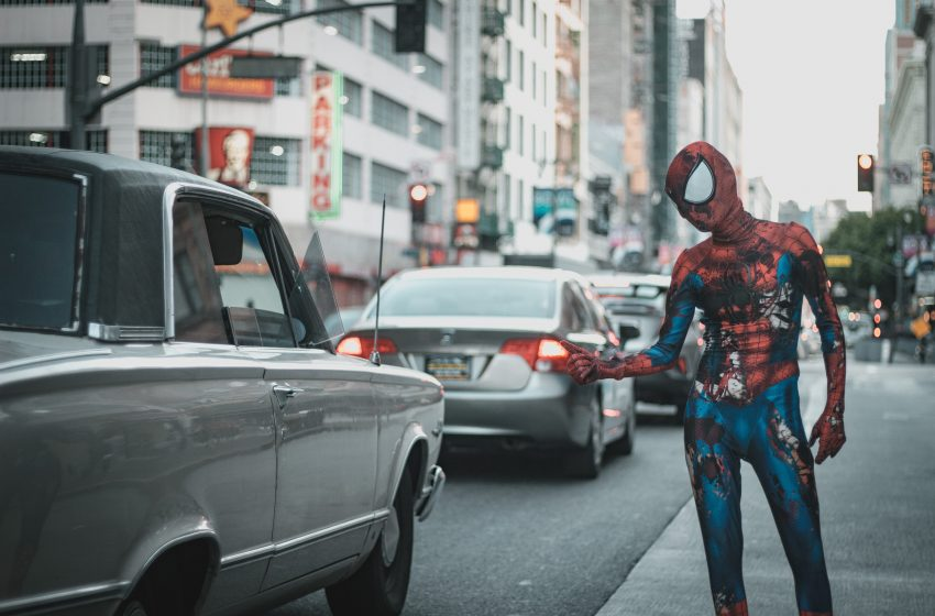 New Marvel Film Featuring 102 Minutes of Nothing But Spider-Man Shitting in an Alleyway Expected to Gross $1 Billion From Streams