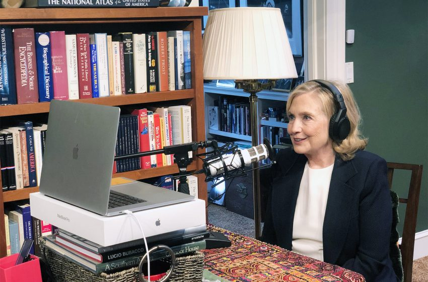 Hillary Clinton's Podcast to be Removed From iHeartRadio After It Was Discovered 100% of Listeners Jumped Off a Bridge While Listening