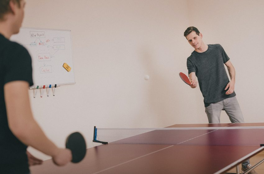 Emaciated Man Hasn't Eaten in Over a Week After Refusing to Leave Ping Pong Table Until He Beats His Brother At the Dreaded Game
