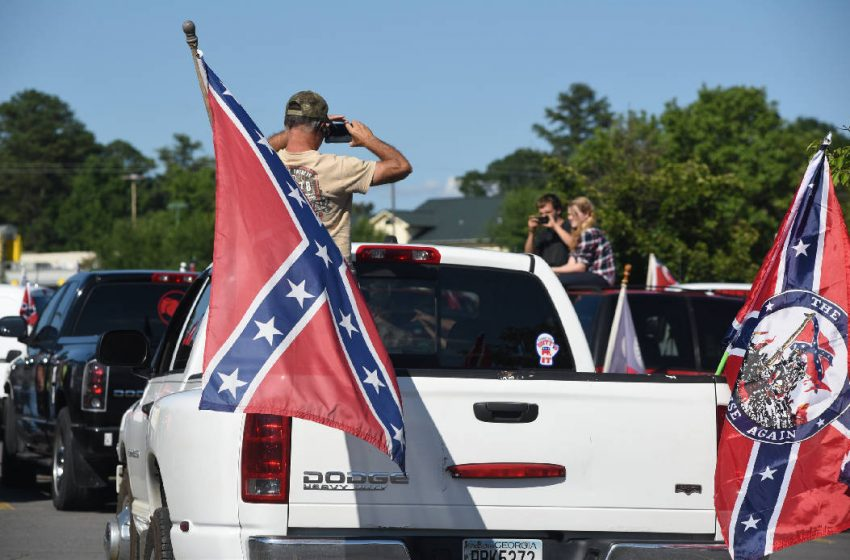 Man Who Has Lived in New York His Whole Life Appears Confused With Confederate Flag on His Truck