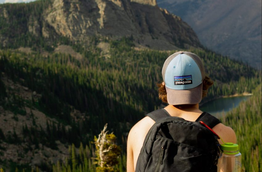 Patagonia Hat Magically Appears On Man's Head After Going On One Hike